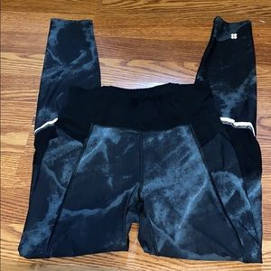 BRAND NEW sweaty betty mesh leggings